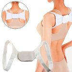 Adjustable Therapy Back Shoulder Brace Support Belt Posture Corrector DDStore
