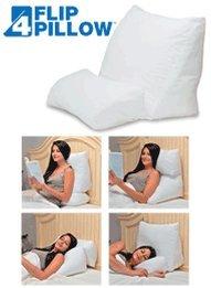 Contour 10 In 1 Flip Pillow, White