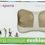 Prospera Kneading Massage Cushion (Light Coffee)