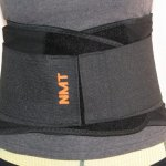 """NMT Lower Back Brace"" ~ for Back Support & Posture ~ Pain Relief and Recovery - Lumbar Black Belt ~ New Natural Remedy ~ Large-XX-Large Length 130CM (Adjustable)"