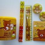 eConn Rilakkuma Bear Pencil Cup Set
