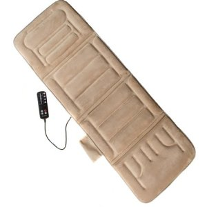 Comfort Products Massage Plush Mat with Heat ,Beige