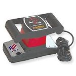 Core - 3401 - Jeanie Rub Variable Speed Professional Back Massager - Black & Red - 9 in.