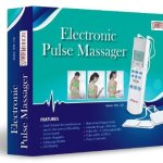 Tens Handheld Electronic Pulse Massager Unit - Excellent Muscle Stimulator for Electrotherapy Pain Management