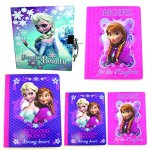 Disney Frozen Diary and Composition Book Set (5 Pieces)