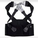 ZJchao(TM) Personal Care Children Adult U+221 Posture Correction Vest Braces and Back Support Belt (XXL)