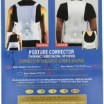 ITA-MED Thoracic Lumbo-Sacral Orthosis Posture Corrector for Men, XX-Large