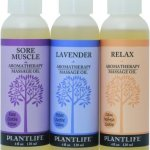 Plantlife Aromatherapy Massage Oil- 3 Pack