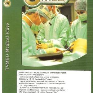 WORLD SPINE III- DVD 41