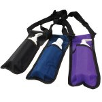 Rapport Single Massage Bottle Holster, Black