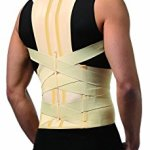®BeFit24 Elastic MEDICAL GRADE CLASS Unisex FULL BACK POSTURE CORRECTOR, with stiff modelled inserts (Small)