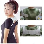 1Pair Back Posture Brace Corrector Shoulder Support Band Belt