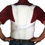 TLSO (Thoracic Lumbo Sacral Orthosis)/Posture Correction Brace - Adult Large