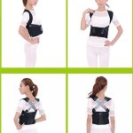 XL Size Therapy Back Posture Corrector Shoulder Support Brace Straightener