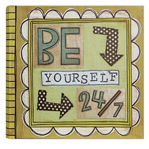 C.R. Gibson Slim Bound Photo Journal Album, Be Yourself 24/7 (P1-12573)