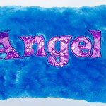 "Solid Angel Decorative Super Soft Plush Bedroom Accent Throw Pillow for Children Teens & Tweens (15"" x 11"")"