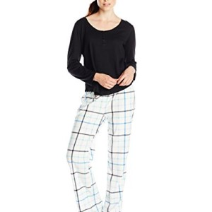 Dearfoams Women's Fleece Pajama Set
