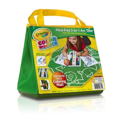 Crayola Color Wonder Mess Free 2 In 1 Art Tote All About