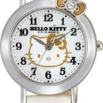 Hello Kitty Classic Ribbon Watch (White) -Hello Kiity Watch (Lady / Girls size)