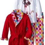 Bunz Kids Little Girls'  Three-Piece Hokey Pokey Sleep Set