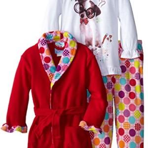 Bunz Kids Little Girls'  Three-Piece Hokey Pokey Sleep Set