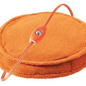 Cozy Spot Unique Personal Warming Pad in Orange