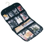 Household Essentials Hanging Cosmetic and Grooming Travel Bag, Black