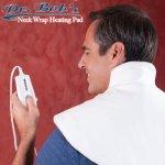 "Dr. Bob's - Neck Wrap Heating Pad - 24"" x 23"", 4 - Heat Settings, Dry / Moist Heat"