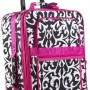 World Traveler Designer Print Collection 20-inch Expandable Carry On Rolling Luggage