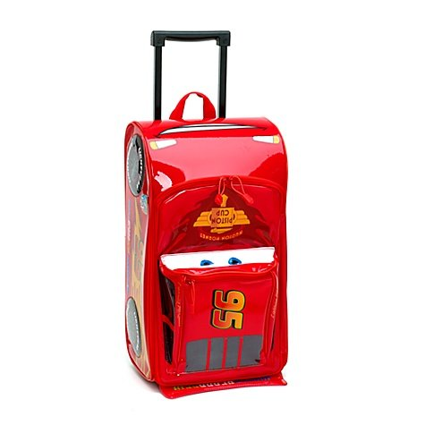Lightning Mcqueen Rolling Luggage Disney Pixar Cars