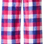 Calvin Klein Big Girls'  Plaid Pajama Pant