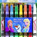 Crayola Frozen Mini Twistable Crayon & Paper Set