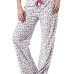 Alki'i Women's Winter Fleece Lounge Pajama Bottom Pants