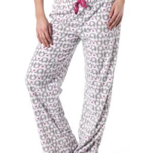 Alki'i Women's Winter Fleece Lounge Pajama Bottom Pants