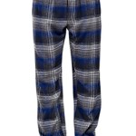 CYZ Men's 100% Cotton Super Soft Yarn Dyed Flannel Plaid Pajama/Louge Pants