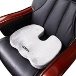 Seat Cushion - For Lower Back Pain, Coccyx & Sciatica Pain, Orthopedic Grade Firm Support, Corrects Postures Naturally. Perfectly Sized for Any Chair; Auto Seat Cushion; From a Very Wellknown Brand - Bael Wellness. Sure Shot Results or 1 Year Money Back Gurantee!