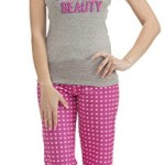 Dollhouse Juniors Sleeping Beauty Tank Top and Capri Set (Small-3X)