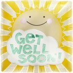 "18"" Foil Balloon Get Well Sunshine"