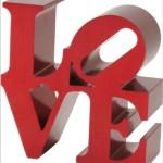 LOVE Replica in Red