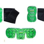 Reusable Instant Heat Packs and Wraps for Soothing Pain Relief ~ 5 Piece Set of Heating Pads For Pain ~ Targets Arthritis, Neck Pain, Knee Pain, Back pain, Muscle Pain and Soreness, Menstrual pain