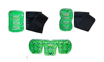 Reusable Instant Heat Packs And Wraps For Soothing Pain Relief 5 Piece Set Of Heating