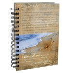 Footprints Prayer Wirebound Journal