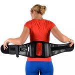 Cybertech SPINE Plus Back Brace - Spinal Support Brace-L-Black