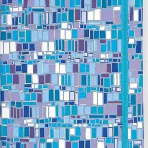 Blue Mosaic Journal (Notebook, Diary) (Small Journal)