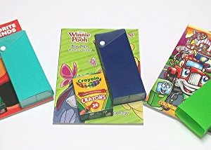 Color Activity Art Pack, with Crayola Crayons 24 Count, Coloring Activity Book, and BONUS Color Box (Boy)