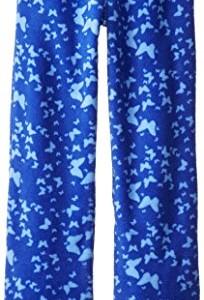 Calvin Klein Big Girls'  Butterfly Print Pajama Pant