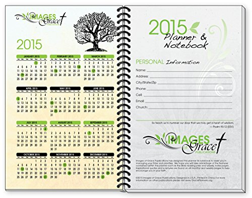 2015 tree of life inspirational christian planner calendar year daily day planners weekly