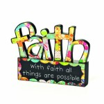 COLORFUL DEVOTIONS by DEMDACO Faith Sculpture Décor