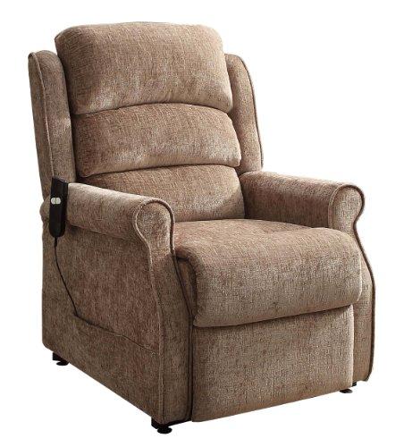 Homelegance 8509 1lt Power Lift Recliner Chair Brown