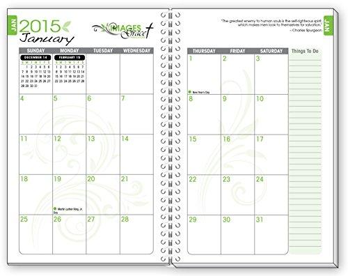 2015 TREE OF LIFE INSPIRATIONAL Christian Planner Calendar Year ...